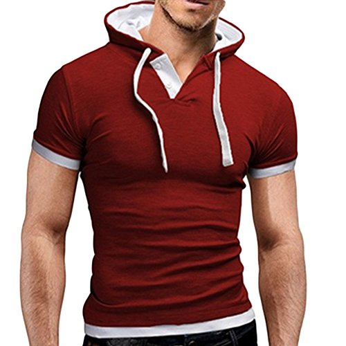Abercrombie & Fitch Muscle Fit Applique Logo For Men's Printed Long Sleeve Cotton Tshirt Large Red (Abercrombie Muscle)