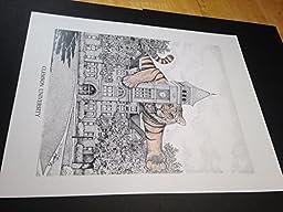 Clemson Tillman Hall pen and ink 11''x14'' print