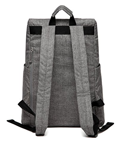 LCY elegante multifunción organizador portátil mochila bolso cambiador bolsa con cambiador gris gris