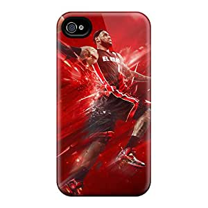 Ideal Eriores Case Cover For Iphone 4/4s(lebron Dunk), Protective Stylish Case
