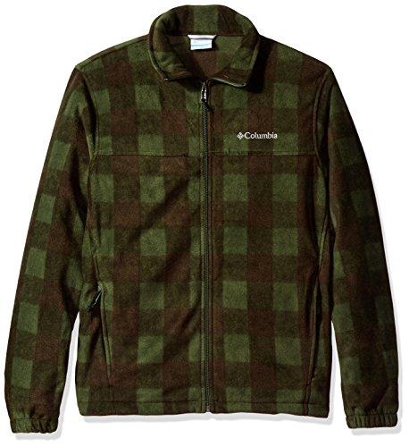- Columbia Men's Cascades Explorer Full Zip Fleece Jacket, Surplus Green Pld, X-Large