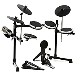 BEHRINGER XD80-USB High-Performance 8-Piece Electronic 240 Sounds 15 Drum Sets Lcd Display Black and Grey, inch (XD80USB…