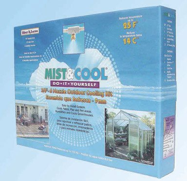 Greenhouse Mist and Cool System by Juliana Greenhouses
