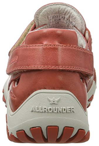 Allrounder by Mephisto Firelli, Zapatillas de Deporte Exterior para Mujer Orange (Burnt Orange)