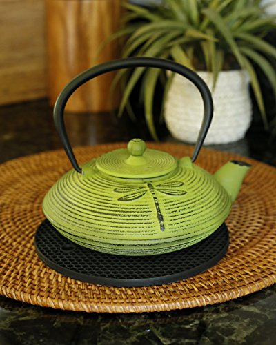 Large Product Image of Silicone Pot Holders Set of 2 Premium Heavy Duty Multipurpose Jar Opener, Trivets, Large Coaster, Spoon Rest, Flexible, Durable, Heat Resistant Mat (Black)