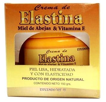 Crema De Elastina Miel De Abejas Y Vitamina E,antoixidante,antienvejecimiento Elastin Cream Honey