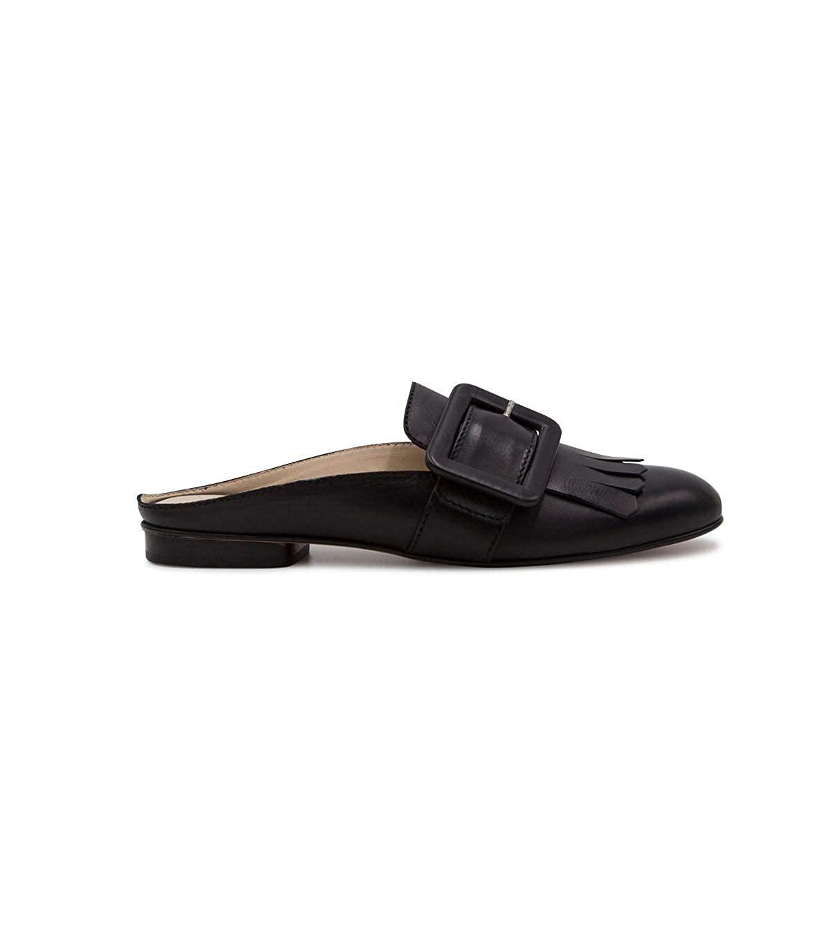 LA SELLERIE Womens 2627BLACK Black Leather Loafers