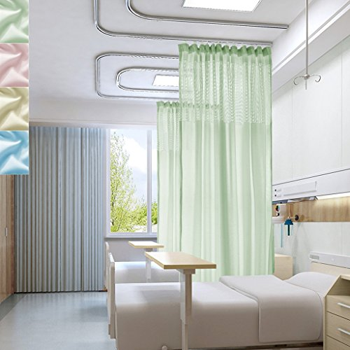 10ft Wide x 8ft Tall Flat Hook Hanging For Hospital Medic...