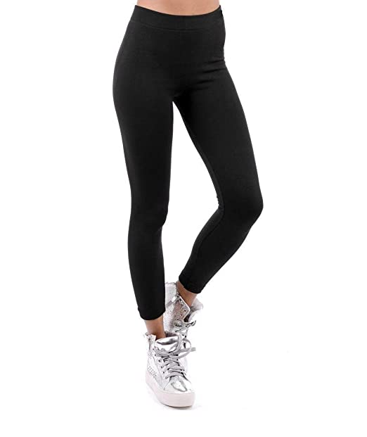 ffe25779a29158 Love Celeb Look Women Stretch Thick Winter Warm Thermal Fleece Lined  Leggings: Amazon.co.uk: Clothing