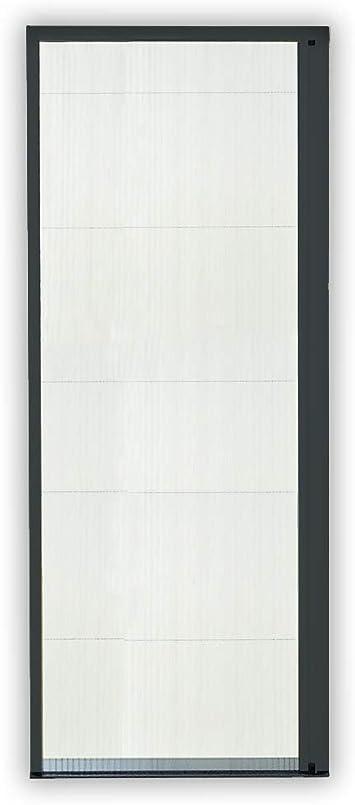 Mosquitera corredera puerta plegable Pro de aluminio (160 x 240 cm), color gris antracita, sin corte: Amazon.es: Bricolaje y herramientas