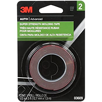 3M 06394 1//2 DOUBLE SIDED ATTACHMENT TAPE Grey