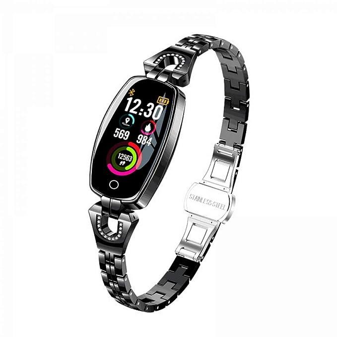 SJUTALR Relojes Deportivos Lujoso Smartwatch Mujer Señora Señoras ...