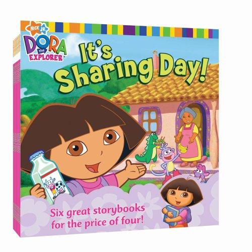 Nick 8x8 Value Pack #5: It's Sharing Day!; At the Carnival; Dora Saves Mermaid Kingdom; Swim, Boots, Swim!; Big Sister Dora; Dora's World Adventure (Dora the Explorer) ()