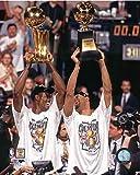 David Robinson Tim Duncan San Antonio Spurs 1999 NBA Finals Photo (Size: 8'' x 10'')
