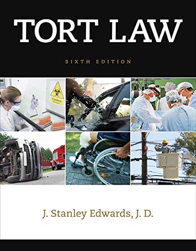 Tort Law (Best Tort Law Textbook)