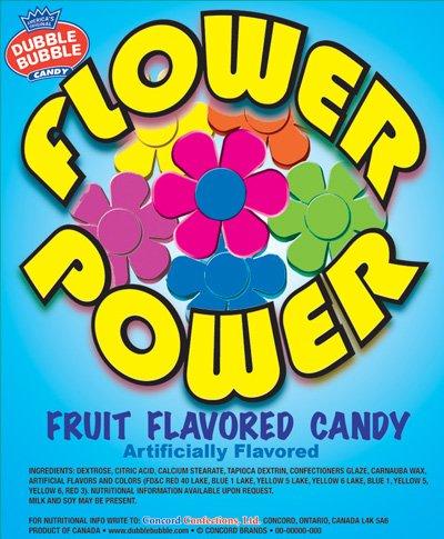 FLOWER Power Fruit Flavored Candy - 2 LBS BULK with BONUS ITEM