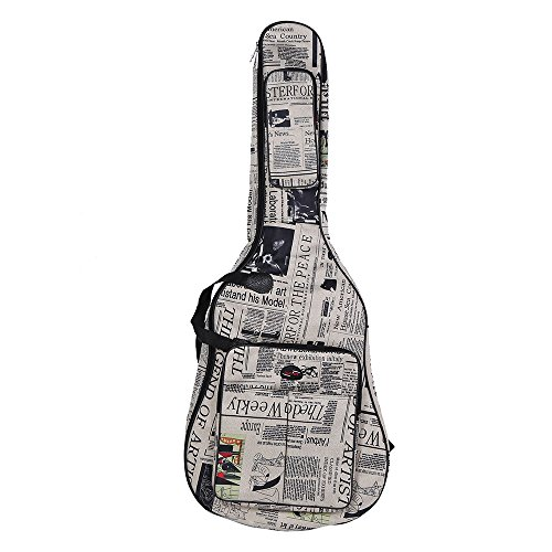 Best Andoer Guitar Cases - Andoer 600D Water-resistant Oxford Cloth Newspaper