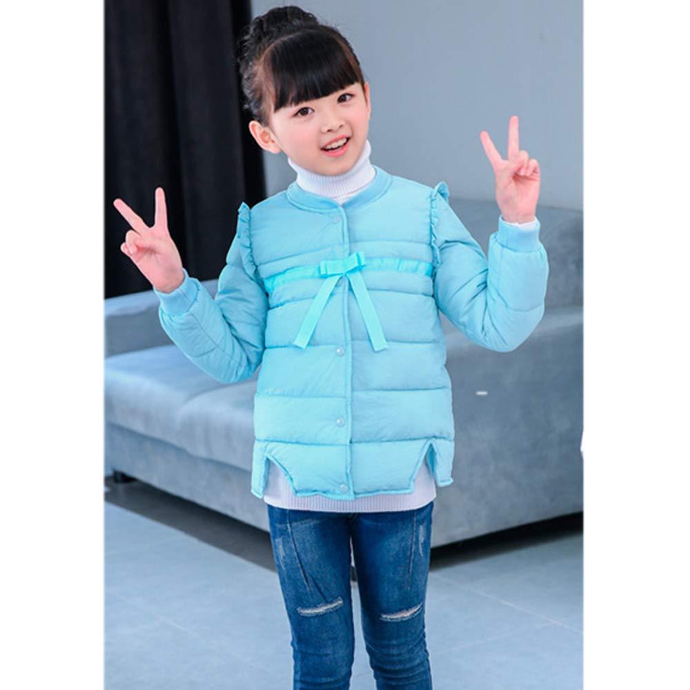 KINDOYO Girls Coat Winter Thick Warm Puffer Jacket Kids Outwear for 3-7 Years