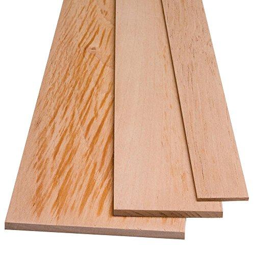 Spanish Cedar by the Piece, 1/4'' x 5'' x 48''