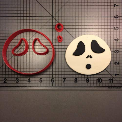 1 Set Custom Made 3D Printed Ghost Skeleton Monster Series Cookie Cutter Set Fondant Cupcake Top Cutter Cake Mould Kitchen Accessories