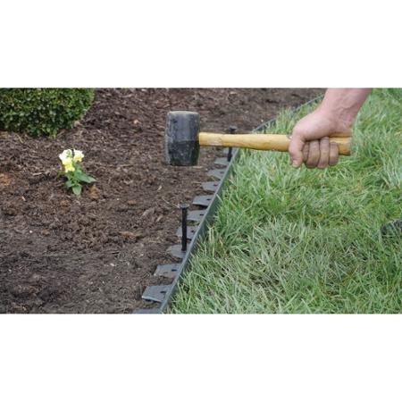 Dimex EasyFlex No Dig Landscape Edging, 20' (Patio Installation Brick)