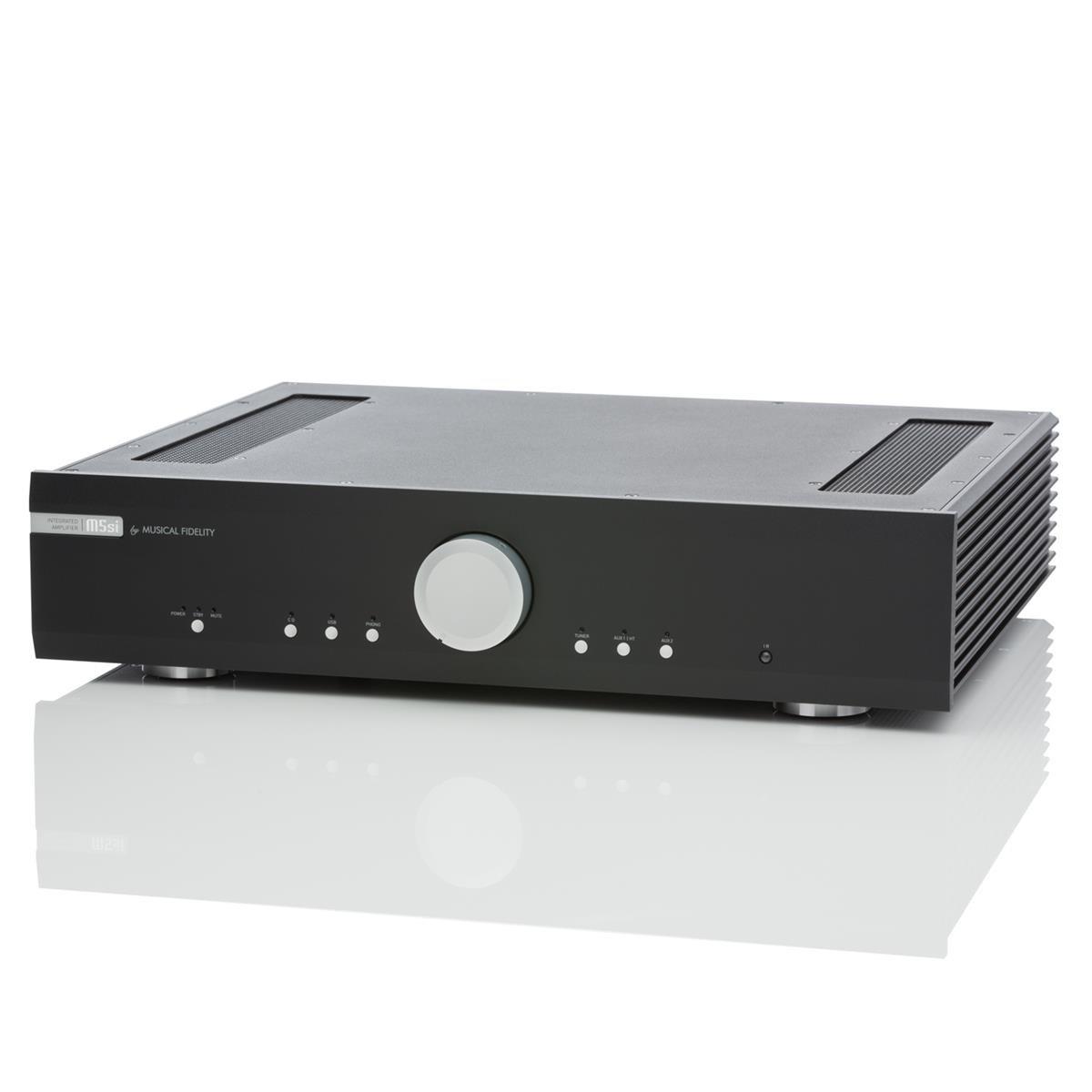 Amplificador HiFi integrado Musical Fidelity m5si 2 x 150 Watts (8Ω) negro: Amazon.es: Electrónica