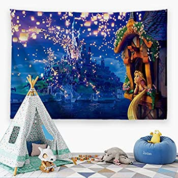 ORTIGIA Tapestry Wall Hanging for Kids Children Home Decor for Bedroom, Kids Room, Living Room,Classroom,Dorm Polyester Fabric Needles Included- 60