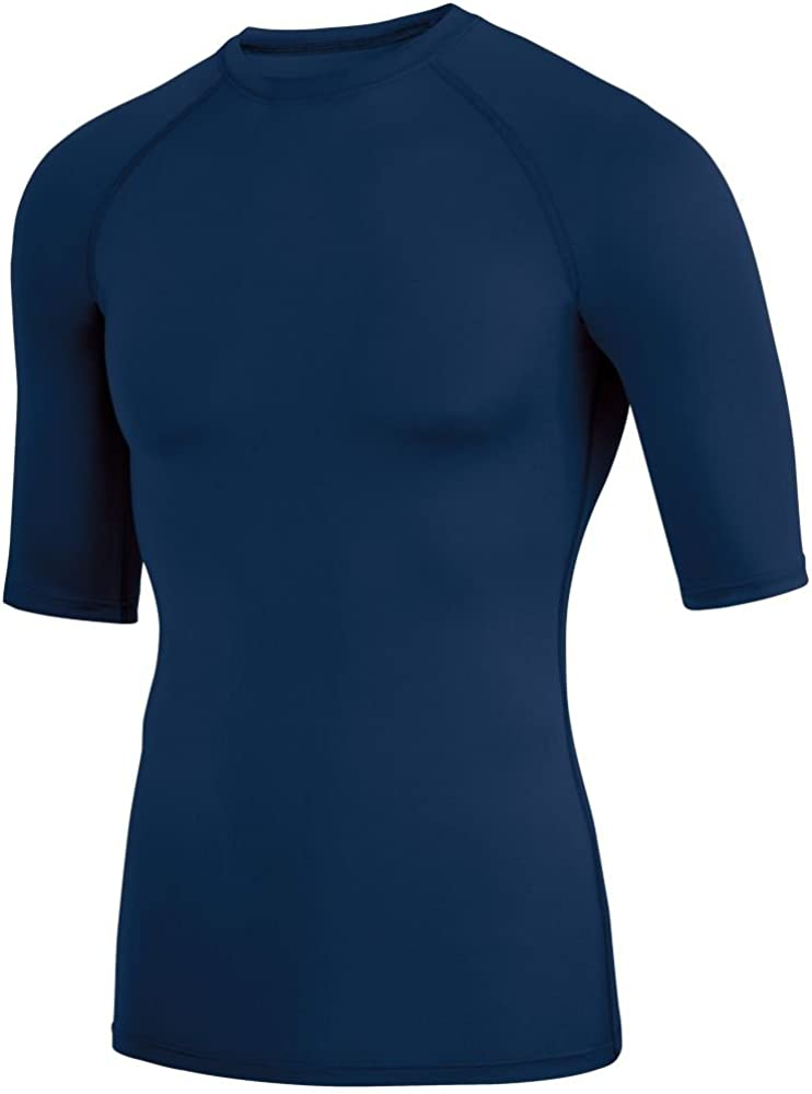 Pack of 3 Augusta Sports Mens Hyperform Compression Half Sleeve Shirt
