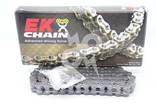 EK Chain 520 SRX2 Quadra X-Ring Chain - 104 Links - Natural, Chain Length: 104, Chain Type: 520, Color: Natural, Chain Application: All EK 520SRX2 X 104