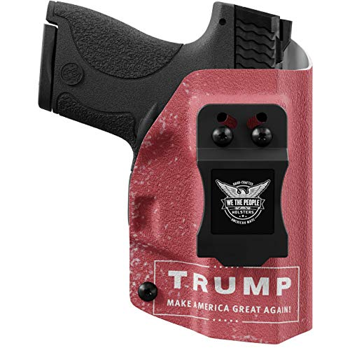 We The People - IWB Holster Compatible with Taser Pulse Gun - Inside Waistband Concealed Carry Kydex Holster (Left Hand, Trump)