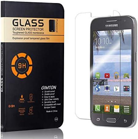 GIMTON Displayschutzfolie für Galaxy Core Prime, 9H Härte, Blasenfrei, Anti Öl, Ultra Dünn Kratzfest Schutzfolie aus Gehärtetem Glas für Samsung Galaxy Core Prime, 4 Stück
