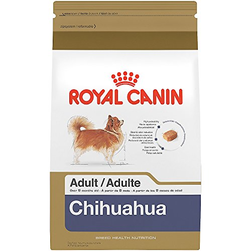 Breed Chihuahua (ROYAL CANIN BREED HEALTH NUTRITION Chihuahua Adult dry dog food, 10-Pound)