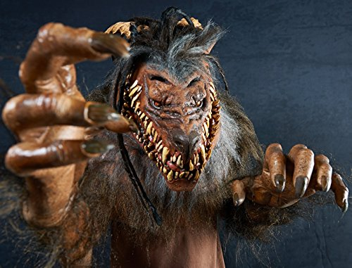 The Nightmare Collection - Snarling Werewolf Costume - One-Size