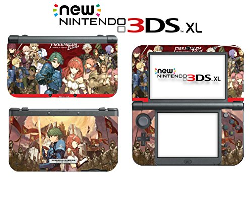 Fire Emblem Echoes: Shadows of Valentia Video Game Vinyl Decal Skin Sticker Cover for Nintendo New 2DS XL System Console (Fire Emblem Echoes Shadows Of Valentia Nintendo 3ds)