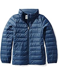 Girls' Lightweight Water-Resistant Packable Puffer Jacket
