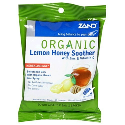 Zand HerbaLozenge Organic Honey Lemon ()