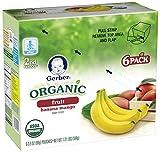 Gerber Organic 2nd Foods Purees - Banana Mango - 3.5 oz
