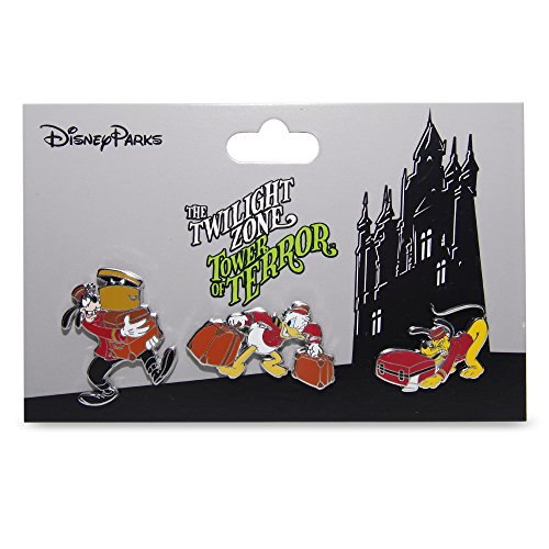 - Disney Parks Tower of Terror Pin Set of 3 The Twilight Zone Hollywood Hotel Pins