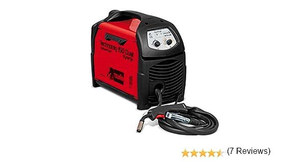 Telwin TE-816050 Equipo de Soldadura de Hilo, 1.2 W, 230 V, Rojo y Negro: Amazon.es: Bricolaje y herramientas