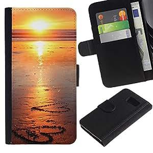 All Phone Most Case / Oferta Especial Cáscara Funda de cuero Monedero Cubierta de proteccion Caso / Wallet Case for Sony Xperia Z3 Compact // Sunset Beautiful Nature 107