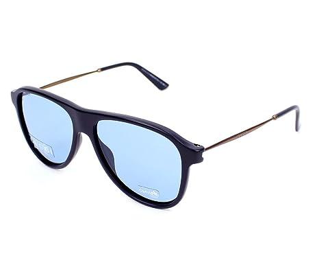 05bad64f4df372 Gucci 1058 S logo - Lunettes de soleil Femme, bleu (blu, lenti blu ...
