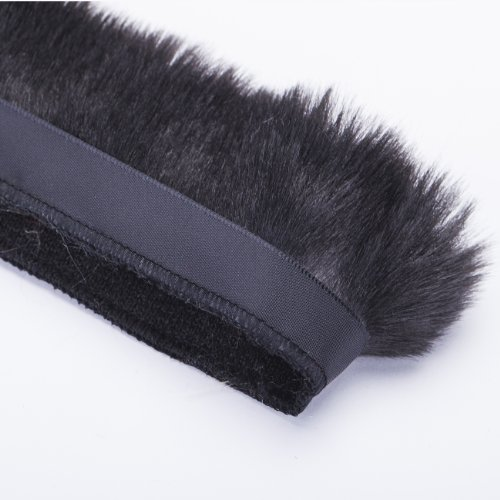 Neotrims Fake Faux Quality Fur Woolly Fringe Trimming, Satin Ribbon, For Costume, Crafts, Decoration. 10 Stunning Colours & 3 Sizes: 2.5, 5 & 10 cm. Beautiful Soft Handle.