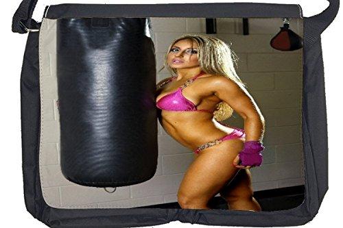 Borsa Tracolla ragazza sexy Boxe sexy Stampato