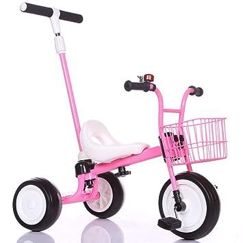 SLC Triciclo De Niños Bicicleta Niño Cochecito De Bebé Bicicleta Bebé Sacudida Solo Sonido Carro 2