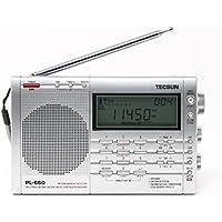 Tecsun PL-660 Portable AM/FM/LW/Air Shortwave World Band Radio with Single Side Band, Silver