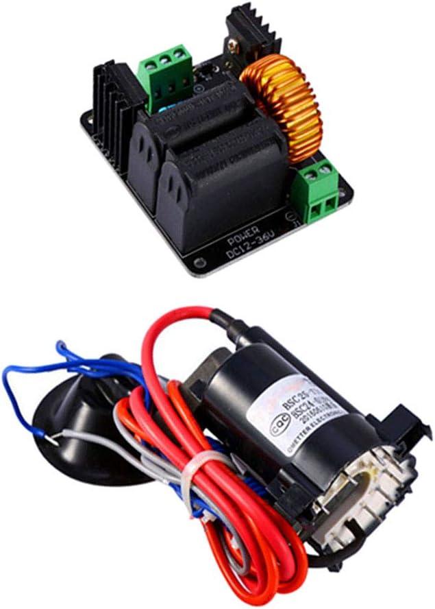ZVS Tesla Coil Flyback driver circuit Bobine d/'allumage SGTC Jacob/'s Ladder Heater