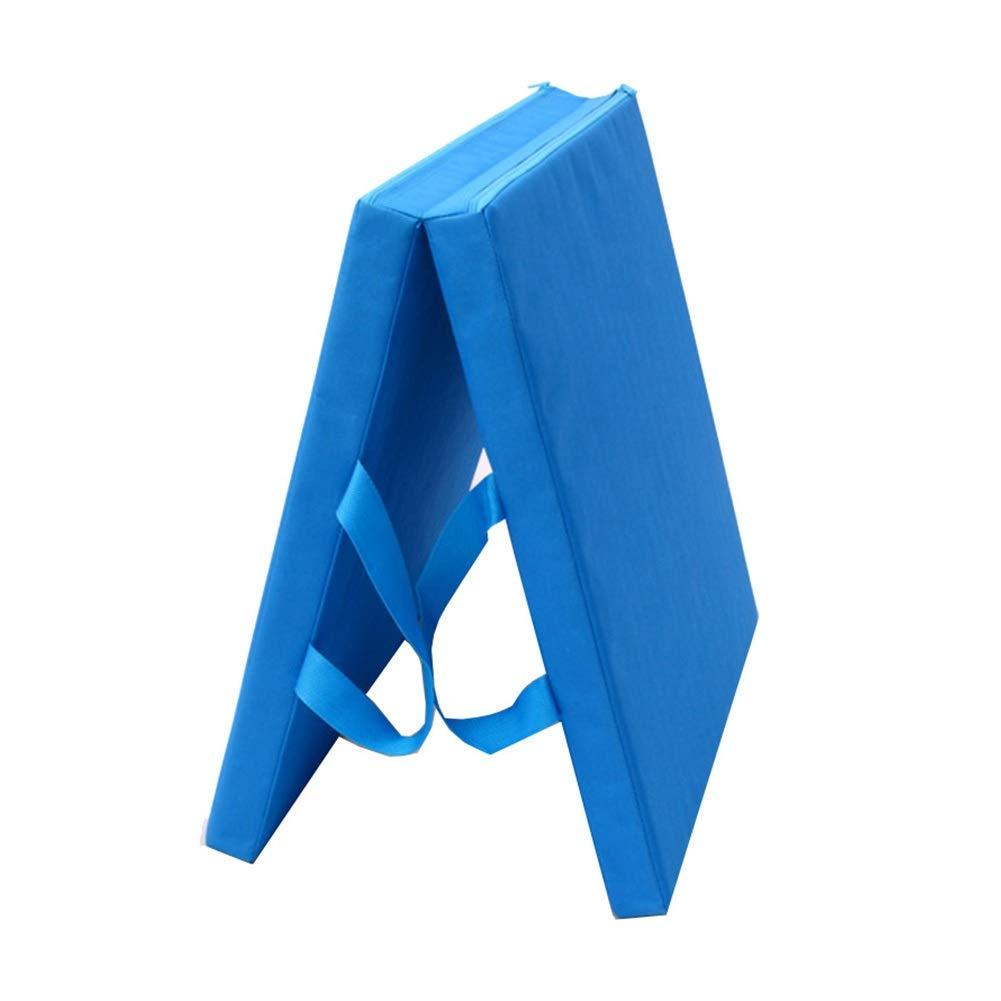 再再販! ZJ 50×100×5CM ヨガ、体操の中心の試しのための持ち運び用ハンドルが付いている二重5cmの厚い練習のマット 青 - 多色およびサイズ (色 : B07R3VF3Q5 赤, サイズ さいず : 70×150×5CM) B07R3VF3Q5 青 50×100×5CM 50×100×5CM|青, ケセンヌマシ:628334c3 --- arianechie.dominiotemporario.com