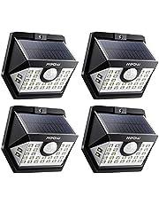 Mpow 30LED Luz Solar, 270° Gran Angular de Iluminación, 3 Modos Lámpara Solar,Sensor de Movimiento, Foco Solar Impermeables IP65 de Exterior para Patio, Garaje, Camino, Jardín