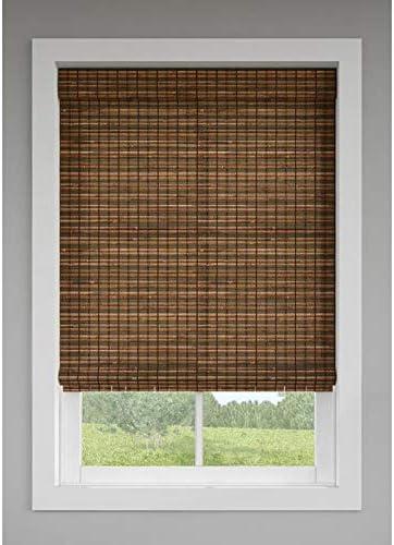 Amazon Com Levolor Trim Go Cinnamon Light Filtering Cordless Indoor Natural Shade Actual 48 In X 64 In Home Kitchen
