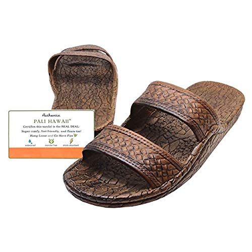 d9b9058b603 Pali Hawaii Dark Brown JANDAL + Certificate of Authenticity (8)
